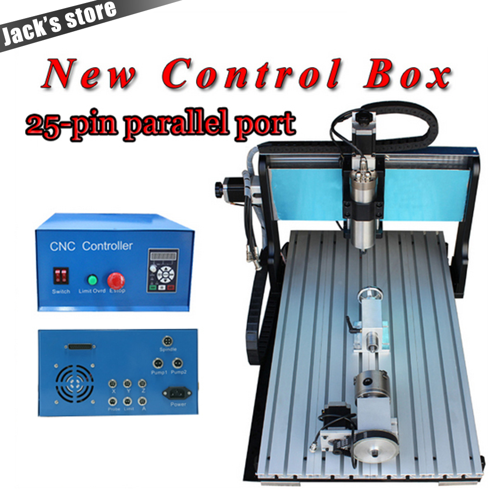 25-pin parallel port !!! 6040Z-SS++(4aixs),1500W Spindle+2.2kw VFD CNC6040 CNC Router water-cooling Metal engraving machine 25 pin parallel port 3040z ss cnc3040 1500w spindle 2 2kw vfd cnc router water cooling metal engraving machine