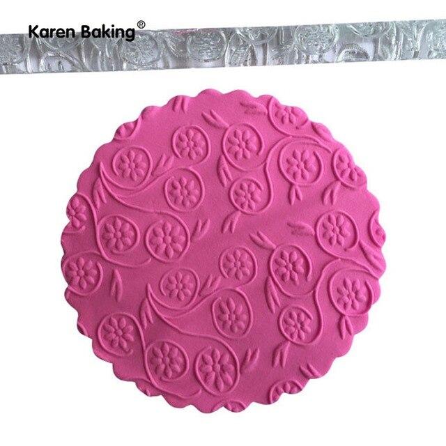 Embossed Rolling Pin Kuchen Design Werkzeuge Acryl Nudelholz Nicht ...