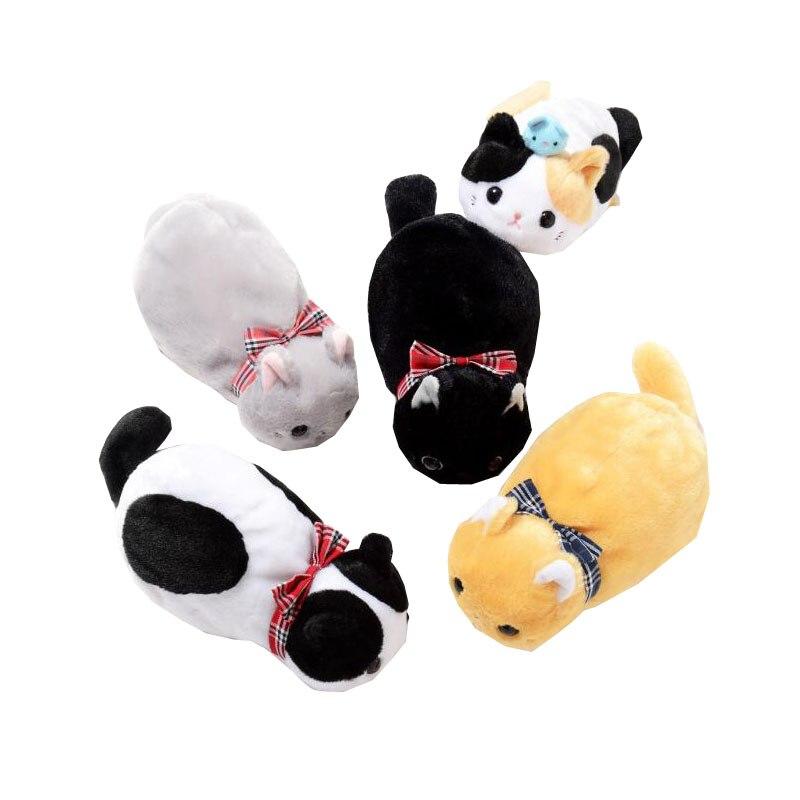 Doeltreffend Zachte Pluche Leuke Kat Cosmetische Tas Dame Girls 3d Katten Pop Vorm Pen Opslag Make Pouch Tassen Voor Vrouwen Gift