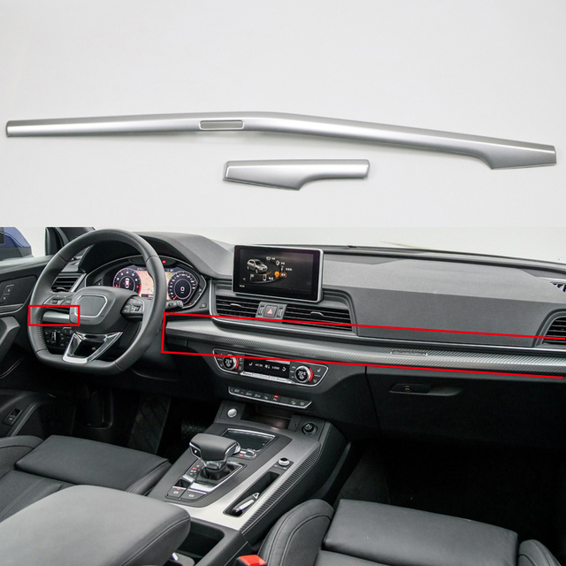 Left Hand Drive For Audi Q5 2018 Abs Plastic Interior Dashboard