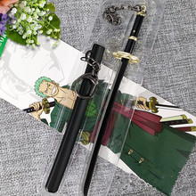 Roronoa Zoro Buckle With Scabbard Sword Keychain