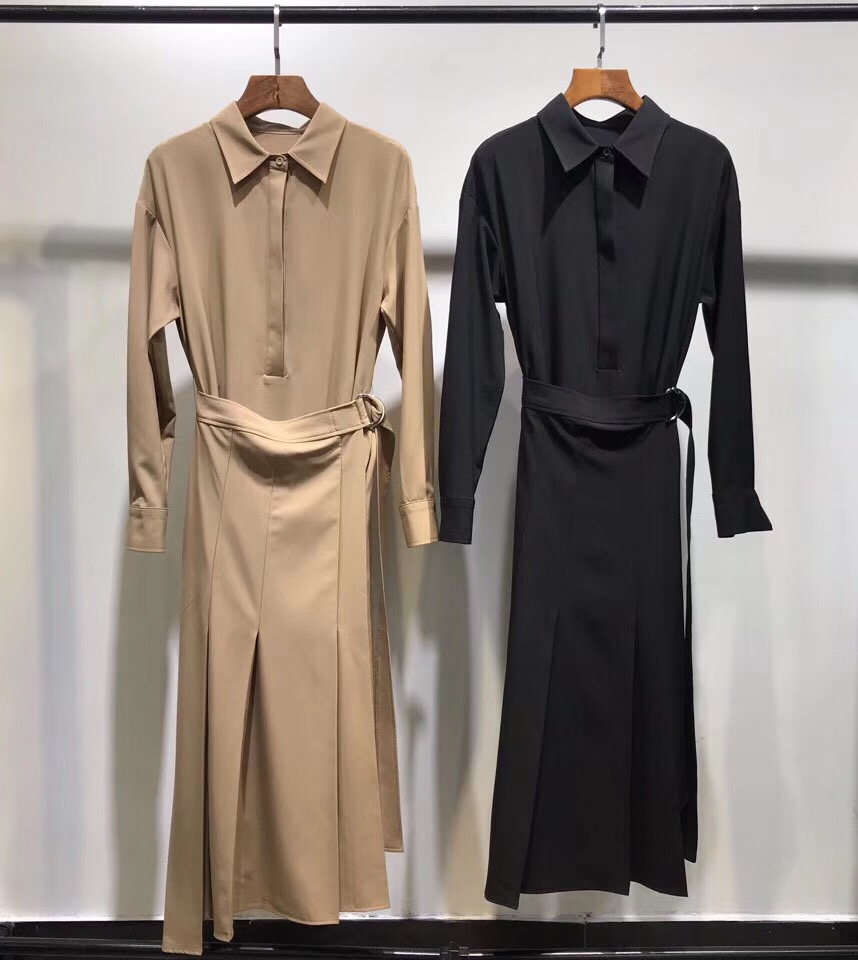 2019 women ladies two pieces long sleeve dress