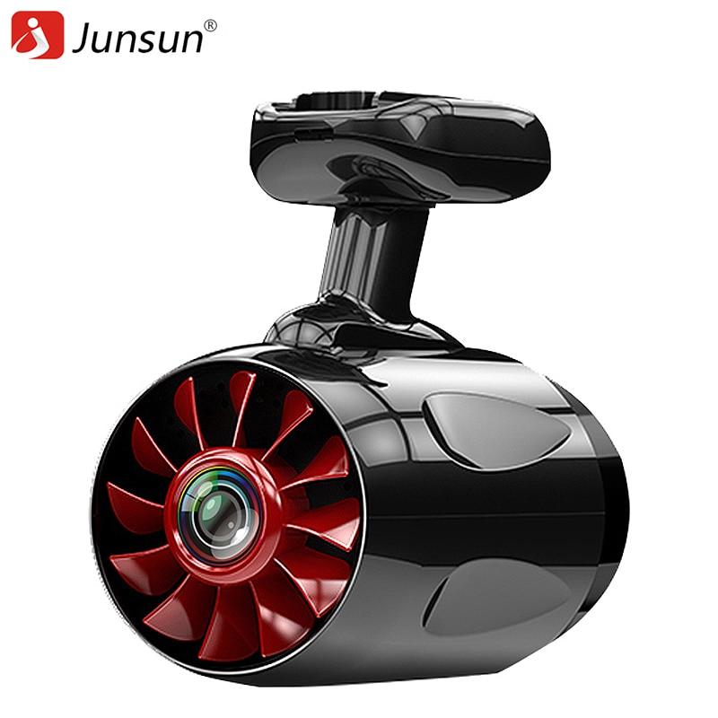 Junsun font b Car b font DVR Ambarella A12 Wifi Camera Super FHD 1296P Dashcam Video