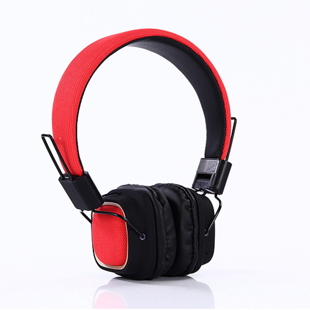 Foldable wireless sports headphone Subwoofer music Earphone Portable Bluetooth Wireless headset with power display for Iphone x