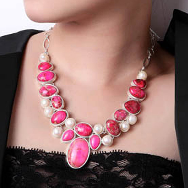 Invisible Transparent Fishing Line Link Chain Zircon Pendant Choker Necklace  GN