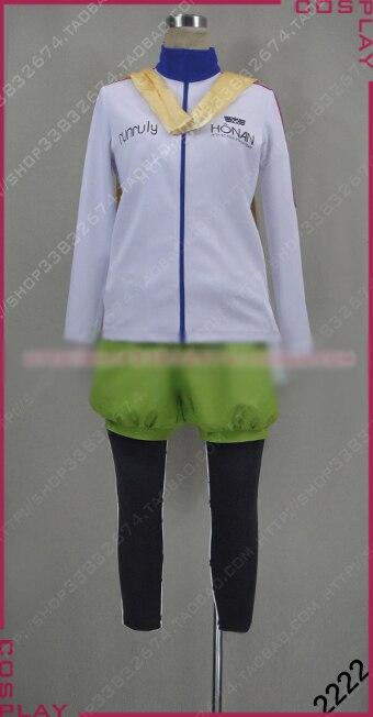 PRINCE OF STRIDE Hozumi Kohinata Cosplay Costume Halloween Uniform Shirt Pants Scarf Bag Custom made