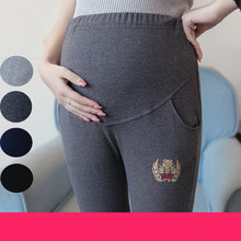 Maternity Pants Trousers Spring Maternity Belly Legging Pencil Long Design Clothes for Pregnant Women Gestante Pantalones B104