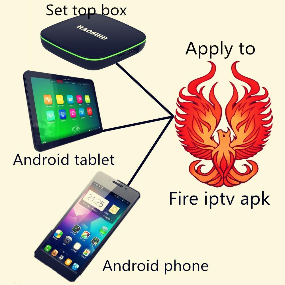 TV BOX Android 7.1 iptv abonnement 1 an Firetv IPTV Support Android téléphone plat 2500 + canal européen/français/arabe/afrique