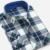 2017 Otoño Hombres de la Camisa A Cuadros de Moda Delgado Vestido Fit de Manga Larga Button-Down Marca de Invierno Para Hombre Camisas Social Envío gratis X094