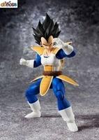 S.H.Figuarts Dragon Ball Z Vegeta Saiyan Saga Figure Black Hair Action Figure Collection Model Kids Toy