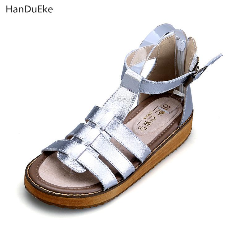 New Fashion Trend, Wear-resistant And Lightweight Rome Womens Sandals, Leather Shoes, Lovely Girls, All Kinds Of