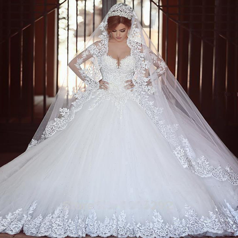 2015 luxury heavy crystal beaded wedding dress vernassa for Heavy beaded wedding dresses
