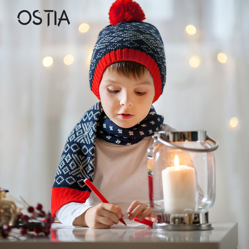 Detail Feedback Questions about Ostia 2pcs lot Baby Winter Hat   Scarf Baby  Winter Cap Children Warm Scarf For Boys Suit Beanie Hats Scarfs For Girl  Boy H59 ... 2480ab1c68b