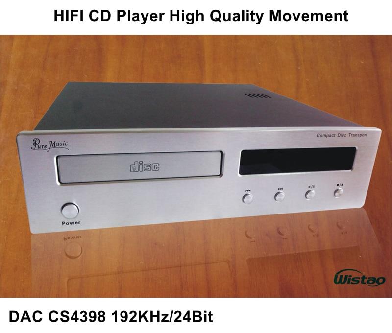 Aliexpress.com : Buy HIFI CD Player with DAC CS4398 192Khz ...