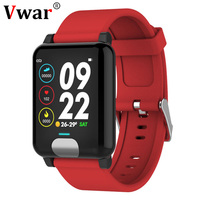 Vwar E04 Smart Band Fitness Tracker ECG/PPG Blood Pressure Heart Rate Monitor Waterproof Smart Watch for Xiaomi Android IOS