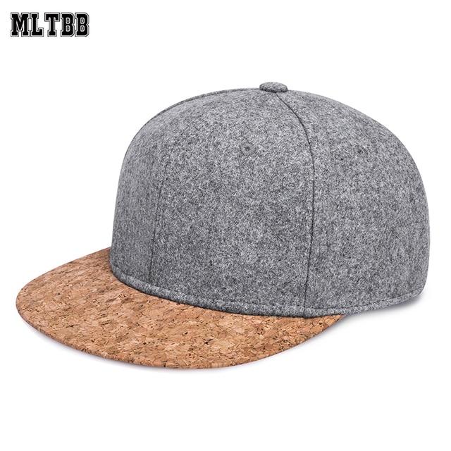 4a343141704 MLTBB Unique Snapback Caps Men Wood Peak Woolen Baseball Caps Warm Summer  Autumn Thicken Caps Man