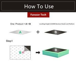 Image 2 - Funssor Grote Maat Magnetische Print Bed Tape Print Sticker Bouwen Plaat Tape Flex Plaat Systeem