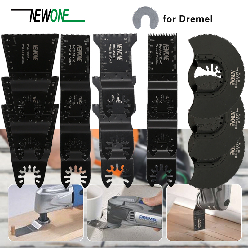 15 Wood/Metal Professional Oscillating Multi Tool Quick Release Saw Blades for Fein Multimaster, Dremel Multi-Max, Dewalt, Craft15 Wood/Metal Professional Oscillating Multi Tool Quick Release Saw Blades for Fein Multimaster, Dremel Multi-Max, Dewalt, Craft