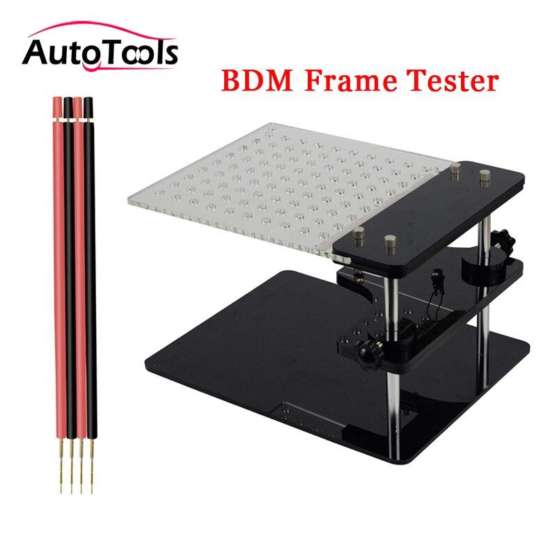 Le plus nouveau testeur de cadre de BDM pour la puce de KESS V2/KTAG/BDM 100/v54 ECU tunning avec quatre stylos de sonde de cuivre