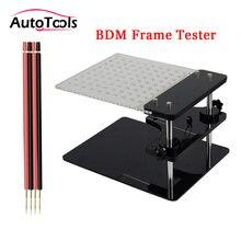 Novo testador de quadro bdm para kess v2/ktag/bdm 100/v54 ecu chip tunning com quatro canetas sonda cobre