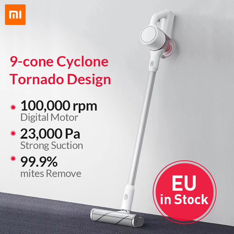 Xiaomi Mijia Handheld Wireless Vacuum Cleaner Portable Cordless Strong Suction aspirador Home cyclone Clean Dust Collector