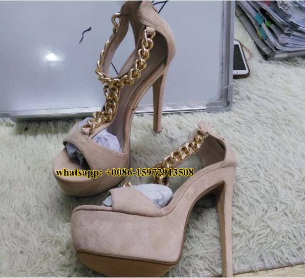Popular Gold Chain Heels-Buy Cheap Gold Chain Heels lots from ...