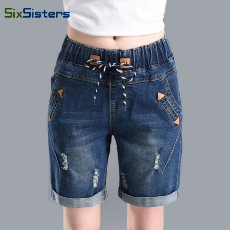 Popular Denim Knee Shorts-Buy Cheap Denim Knee Shorts lots from ...