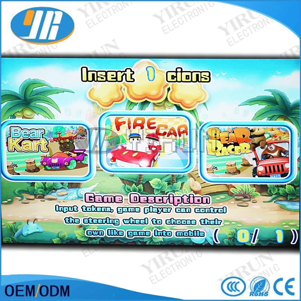 Arcde game PCB board 31 in 1 racing car machine FIRE CAR video game board with