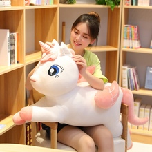 New lovely Unicorn Plush Toy Soft Stuffed Popular Cartoon Dolls Animal Horse High Quality Toys For Children Girls