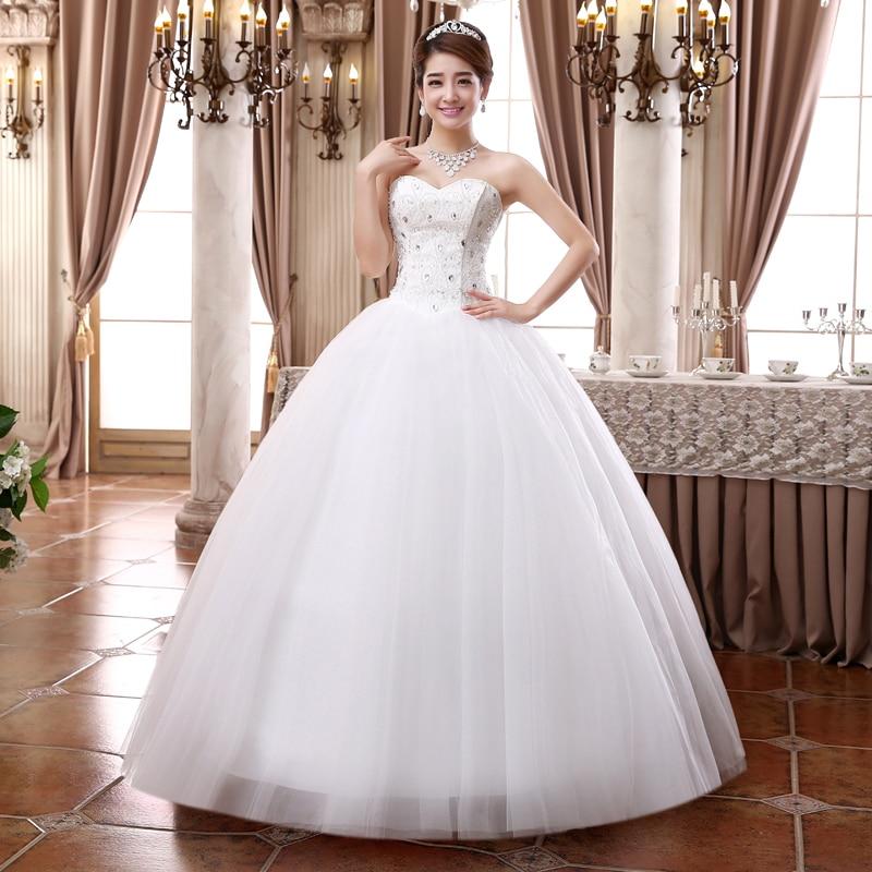 2015 New Wedding Dress Formal Dress Married Diamond Top