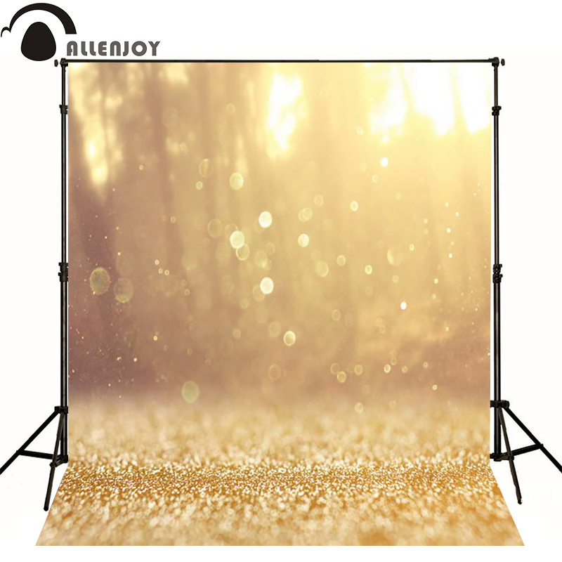 Allenjoy photographic background Golden autumn sunshine texture photo backdrops for sale photography send rolled photocall  allenjoy photographic background castle butterfly purple stars newborn photography photo for studio send rolled wood