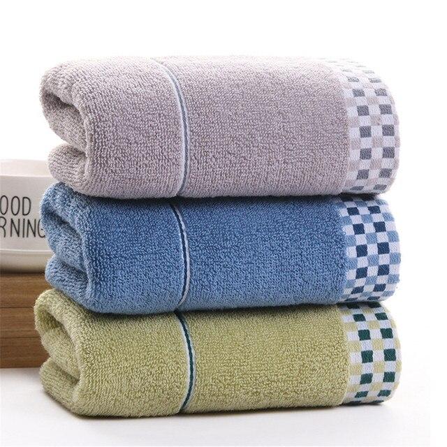 DelCaoFen Asciugamano Viso 100% Cotone Asciugamano Telo da bagno In Spugna Assor
