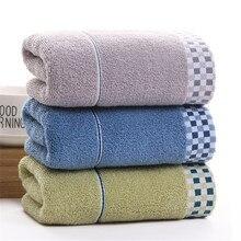 где купить DelCaoFen Face Towel 100% Cotton Towel Terry Absorbent Washcloths Bath Towel Salon Home Use Hot Sale Custom Your Logo Towel по лучшей цене