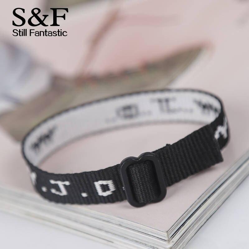 Wwjd Bracelet Men Jewelry Pulseira Masculina Pulseras Black Ribbon Letter Schwork Summer Sport Bracelets In Charm From