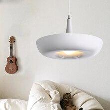 Hanging Air Garden E27 Pendant Lights White Aluminum Pendant Lamp Hanging Luminaire 110V 220V For Decor Lighting Light Fixture