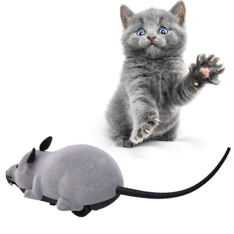 Cat Toy Wireless Remote Control Mouse Electronic RC Rat Mice Toy Pet Cat Toy Mouse gato juguete pet toy