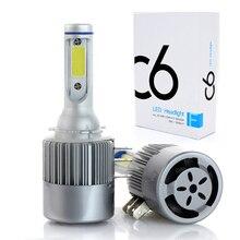 H15 Светодиодный лампочки 72 w 7600LM Беспроводной фары автомобиля дневной лампы дневного света преобразования поиска 6000 k для гольфа Audi BMW