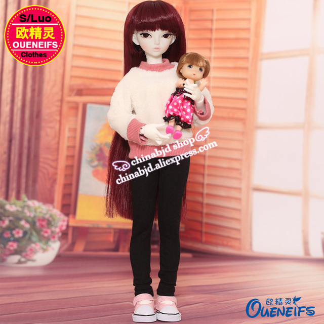 OUENEIFS free shipping ,Autumn or winter sweater,pants or A full suit of clothes,1/4 bjd/sd doll clothes,no doll or wig YF4-167 2