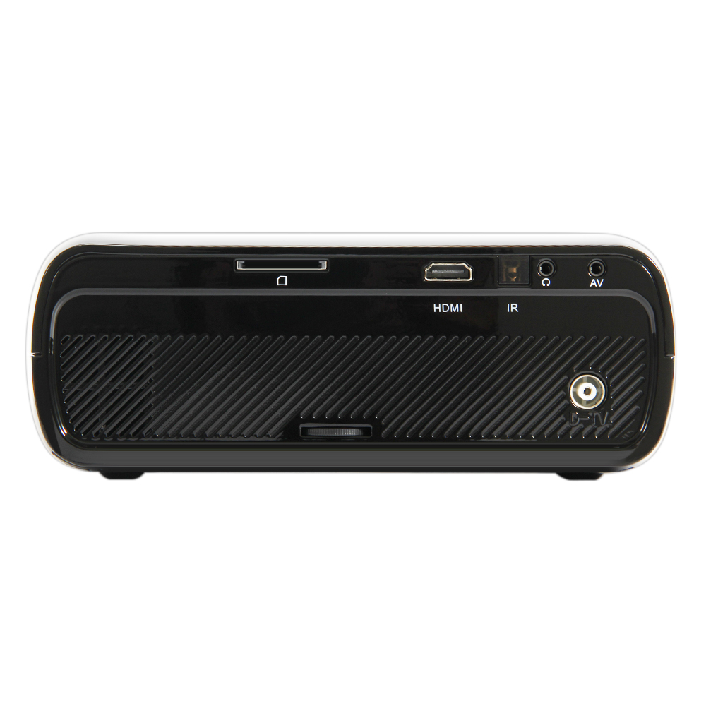 WZATCO CTL80 Android 6 Wifi Inteligente Portátil Mini LED Proyector - Audio y video casero - foto 2