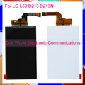 "1pcs/lot High Quality 4.0"" Tested Good LCD For LG L50 D213 D213N LCD Display Screen Replacement Tracking Code Free Shipping"