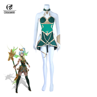 ROLECOS 2018 New Arrival Game LOL Lux Cosplay Costumes Lux Year of the Dog Skin Cosplay Costumes Full Set