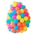 50 pçs/lote Ecologicamente Correta Colorido Plástico Macio Piscina de Água do Oceano Onda Bola Bebê Engraçado Brinquedos stress Bola De Ar Ao Ar Livre Esportes Diversão