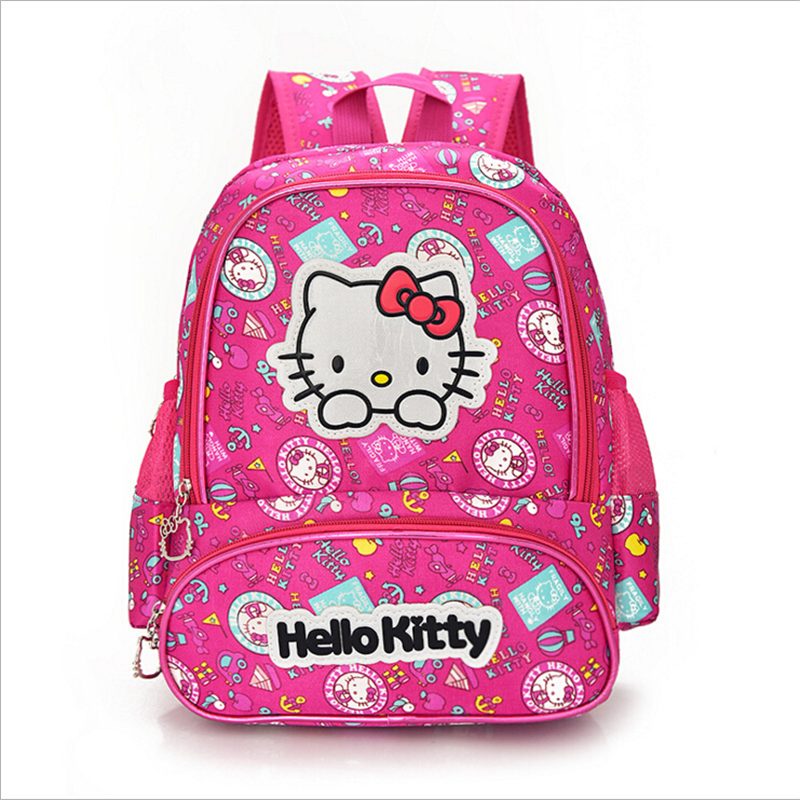 buy hello kitty cartoon toy backpack girl school bag baby cute bags for kids gift at aliexpress. Black Bedroom Furniture Sets. Home Design Ideas