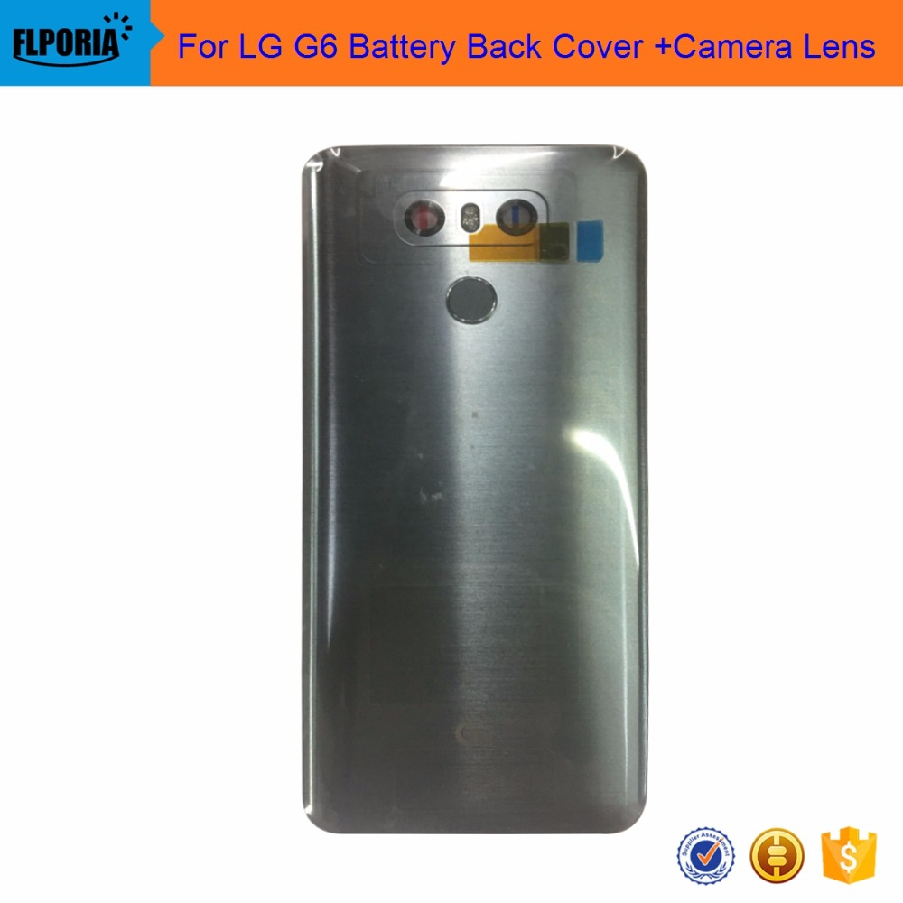 все цены на For LG G6 Battery BackCover With Home Button Fingerprint Camera Lens онлайн