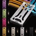Para sony z2 case durável parafuso de metal à prova de choque quadro com volta tampa de metal de alumínio case para sony xperia z2 d6502 d6503 d6543
