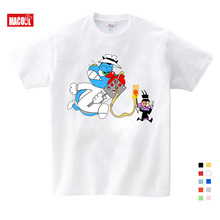 2019 Oggy and The Cockroaches Childrens Short Sleeved T-shirt Boy Girl Pure Cotton Breathable Summer Children Tshirt