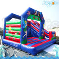 Colorful Inflatable Trampoline Jumping Bouncying House For Rental