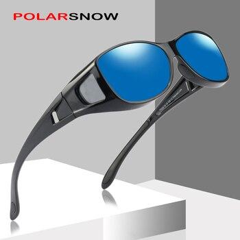 ef1a0bf27f27 PALORSNOW бренд OVER-FIT поляризованные солнцезащитные очки для рыбалки  спортивные очки ...