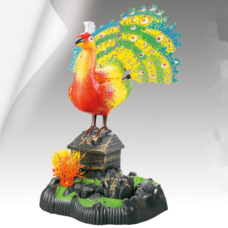 sound control peacock sounds bird 16x13x17cm ornament ,home
