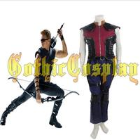 The Avengers Ultron Clint Barton Hawkeye cosplay costume Captain America Hawkeye costumes adult superhero Halloween cosplay